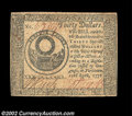 Colonial Notes:Continental Congress Issues, Continental Currency April 11, 1778 $30 Very Fine-Extremely ...