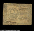 Colonial Notes:Continental Congress Issues, Continental Currency April 11, 1778 $30 Fine. Solid for ...
