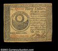 Colonial Notes:Continental Congress Issues, Continental Currency September 26, 1778 $30 Choice Extremely ...