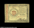 Colonial Notes:Continental Congress Issues, Continental Currency January 14, 1779 $1 Extremely Fine-...