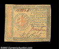 Colonial Notes:Continental Congress Issues, Continental Currency January 14, 1779 $2 Choice Extremely ...