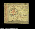 Colonial Notes:Continental Congress Issues, Continental Currency January 14, 1779, $3 Choice Very Fine....