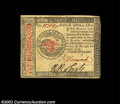 Colonial Notes:Continental Congress Issues, Continental Currency January 14, 1779, $4 Choice About New....