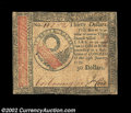 Colonial Notes:Continental Congress Issues, Continental Currency January 14, 1779 $30 Very Fine-...