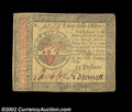 Colonial Notes:Continental Congress Issues, Continental Currency January 14, 1779 $55 Choice Very Fine....