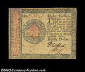Colonial Notes:Continental Congress Issues, Continental Currency January 14, 1779 $80 Choice Extremely ...
