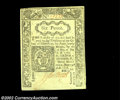 Colonial Notes:Connecticut, Connecticut June 19, 1776 6d Choice New. This pretty note ...