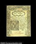 Colonial Notes:Connecticut, Connecticut June 19, 1776 6d Choice New. The clean, ...