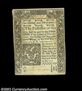 Colonial Notes:Connecticut, Connecticut June 19, 1776 1s3d New. This well centered, ...