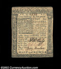 Colonial Notes:Delaware, Delaware January 1, 1776 2s6d Extremely Fine. This note ...