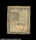 Colonial Notes:Delaware, Delaware January 1, 1776 2s6d Very Fine-Extremely Fine. An ...