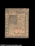 Colonial Notes:Delaware, Delaware January 1, 1776 5s New. Fully Uncirculated and ...