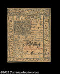 Colonial Notes:Delaware, Delaware January 1, 1776 10s Choice New. This issue is by ...