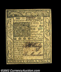 Colonial Notes:Delaware, Delaware January 1, 1776 20s Very Choice New. A near-Gem ...