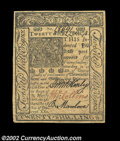 Colonial Notes:Delaware, Delaware January 1, 1776 20s Choice New. A lovely example ...