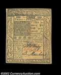 Colonial Notes:Delaware, Delaware January 1, 1776 20s Choice New. A second example ...