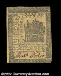 Colonial Notes:Delaware, Delaware May 1, 1777 6d Extremely Fine-About New. An ...