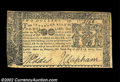 Colonial Notes:Maryland, Maryland April 10, 1774 $2 Extremely Fine. A clean, good ...