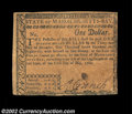Colonial Notes:Massachusetts, Massachusetts May 5, 1780 $1 Extremely Fine. Uncanceled ...