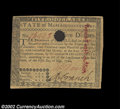 Colonial Notes:Massachusetts, Massachusetts May 5, 1780 $5 About New. Hole canceled but ...