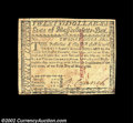 Colonial Notes:Massachusetts, Massachusetts May 5, 1780 $20 About New. Uncanceled and ...