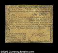 Colonial Notes:New Hampshire, New Hampshire April 29, 1780 $1 Fine. Well circulated but ...