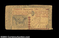 Colonial Notes:New Jersey, New Jersey April 8, 1762 30s Very Fine. A very nice early ...