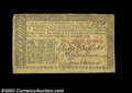 Colonial Notes:New Jersey, New Jersey February 20, 1776 6s Very Fine-Extremely Fine. ...