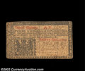 Colonial Notes:New Jersey, New Jersey February 20, 1776 30s Very Fine. Although the ...