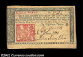 Colonial Notes:New Jersey, New Jersey March 25, 1776 18d About New. Broadly margined, ...