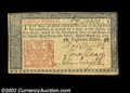 Colonial Notes:New Jersey, New Jersey March 25, 1776 18d Extremely Fine. A very nice ...