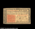 Colonial Notes:New Jersey, New Jersey March 25, 1776 3s Choice About New. A nice ...