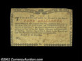 Colonial Notes:New York, New York August 2, 1775 4s About New. A bit mottled in ...