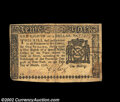 Colonial Notes:New York, New York March 5, 1776 $1/8 Extremely Fine. There is a ...