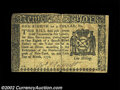 Colonial Notes:New York, New York March 5, 1776 $1/8 Very Fine. A nice example with ...