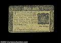 Colonial Notes:New York, New York March 5, 1776 $1/2 Very Fine. The corners are ...