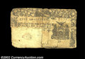 Colonial Notes:New York, New York April 18, 1786 5s Fine, Damaged. An extremely ...