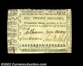 Colonial Notes:North Carolina, North Carolina April 23, 1761 20s About New. This is one ...