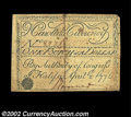 Colonial Notes:North Carolina, North Carolina April 2, 1776 $1/4 Extremely Fine. ...