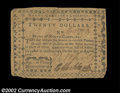 Colonial Notes:North Carolina, North Carolina August 8, 1778 $20 Very Fine. Two minor ...