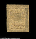 Colonial Notes:Pennsylvania, Pennsylvania May 20, 1758 10s Fine. All three signatures ...