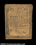 Colonial Notes:Pennsylvania, Pennsylvania May 1, 1760 20s Very Fine. There are two ...