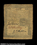 Colonial Notes:Pennsylvania, Pennsylvania April 3, 1772 18d Fine. This circulated note ...