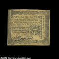 Colonial Notes:Pennsylvania, Pennsylvania April 3, 1772 2s Extremely Fine. A well ...