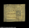 Colonial Notes:Pennsylvania, Pennsylvania March 20, 1773 6s Very Fine. This is the ...