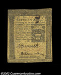 Colonial Notes:Pennsylvania, Pennsylvania March 20, 1773 16s Extremely Fine. A very ...