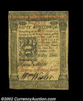 Colonial Notes:Pennsylvania, Pennsylvania October 1, 1773 50s Choice New. A very nice ...