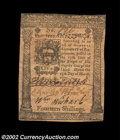 Colonial Notes:Pennsylvania, Pennsylvania March 25, 1775 14s Choice Extremely Fine. A ...