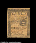 Colonial Notes:Pennsylvania, Pennsylvania March 25, 1775 16s Choice Extremely Fine. ...