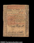 Colonial Notes:Pennsylvania, Pennsylvania April 10, 1775 L5 Very Fine. There is a short ...